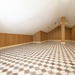空間をデザインしたお家