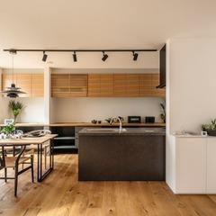 家事動線を考えたキッチン
