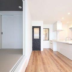 和室を1つのお部屋としても使用できる引き戸があると便利