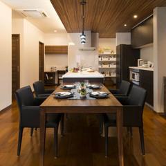 加須市今鉾の二世帯住宅でおしゃれな食器棚のあるお家は、クレバリーホーム加須店まで!