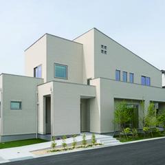 姫路市大津区恵美酒町のパネル工法 2×4(ツーバイフォー)の家でおしゃれなサイディングの外壁のあるお家は、クレバリーホーム 姫路店まで!