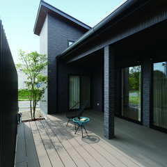 洲本市桑間のリゾートな外観の家で広々した屋根裏部屋のあるお家は、クレバリーホーム 淡路店まで!