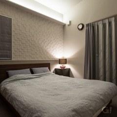 雰囲気のある寝室