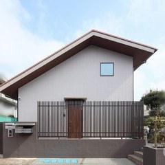 大きな屋根の集合住宅