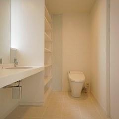 ホテルライクな洗面・トイレ