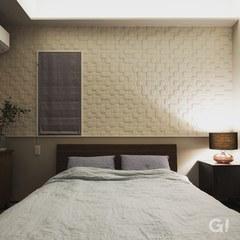 高級感のある寝室