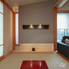 和室の壁に飾るスペースを