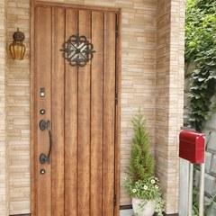 北欧風玄関ドア