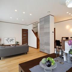 ひたちなか市青葉町のシンプルな外観の家で広々した廊下のあるお家は、クレバリーホーム ひたちなか店まで!