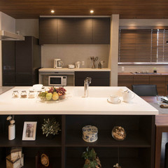 ひたちなか市小貫山の二世帯住宅で使い勝手の良いテレビボードのあるお家は、クレバリーホーム田彦店まで!
