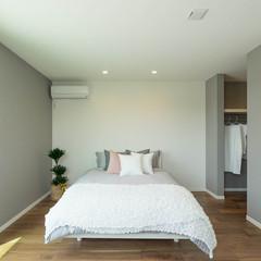 土浦市藤沢新田のパネル工法 2×4(ツーバイフォー)の家で漆喰の外壁のあるお家は、クレバリーホーム 土浦店まで!