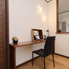 伊勢崎市曲沢町のシンプルな外観の家でゆったりリビングのあるお家は、クレバリーホーム 伊勢崎店まで!