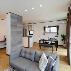 藤枝市宮原のブルックリンな外観の家でオシャレなダイニングのあるお家は、クレバリーホーム 藤枝店まで!
