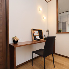 藤枝市旭が丘のシンプルな外観の家で収納に便利な納戸のあるお家は、クレバリーホーム 藤枝店まで!