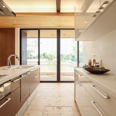 視界の抜けるキッチン