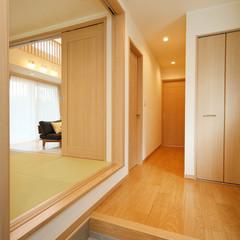 新潟市中央区鐙西の和モダンな外観の家でゆったり浴室のあるお家は、クレバリーホーム新潟中央店まで!