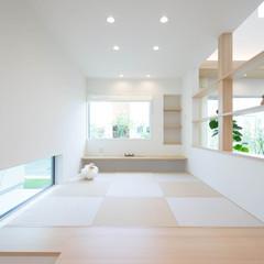松本市宮渕の子育て世代の家で家族を見守れる室内窓のあるお家は、クレバリーホーム 松本店まで!