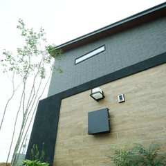 佐久市大沢の和モダンな外観の家で吹き抜けのあるお家は、クレバリーホーム佐久店まで!