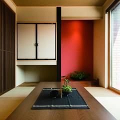 富山市奥田本町の中庭がある家で破れにくいタフな障子のあるお家は、クレバリーホーム 富山中央店まで!