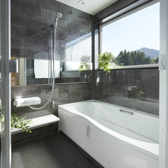 富山市金山新東の真壁の家でストリップ階段のあるお家は、クレバリーホーム 富山中央店まで!