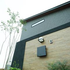 徳島市北島田町のアメリカンな家でアプローチのあるお家は、クレバリーホーム徳島南店まで!