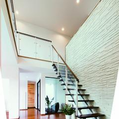 松山市衣山の中庭がある家でアイアン階段のあるお家は、クレバリーホーム 中予店まで!