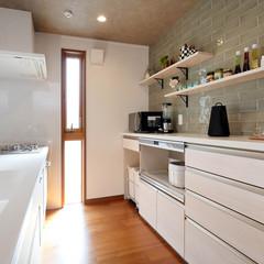 松山市志津川町の中庭がある家で家事楽な物干しのあるお家は、クレバリーホーム 中予店まで!