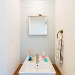 シンプルモダンな洗面台