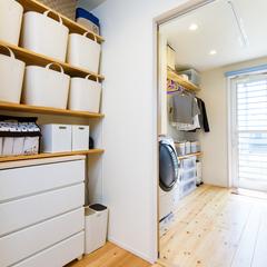 収納上手 洗濯室