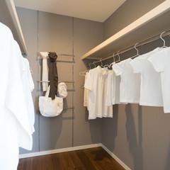 米子市吉岡のバリアフリーシニア向け住宅でオーダーメイドの化粧梁のあるお家は、クレバリーホーム 米子店まで!