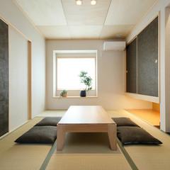 米子市和田町のバリアフリーシニア向け住宅でデザイン性にこだわった襖のあるお家は、クレバリーホーム 米子店まで!