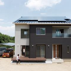 浜田市旭町山ノ内のデザイナーズ住宅をクレバリーホームで建てる♪浜田店