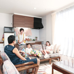 益田市西平原町で地震に強い自由設計住宅を建てる。
