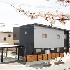 家から桜を楽しめる (株)櫻井建設 山形市