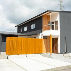 大田区に建つ庭風の家 BDAC=Style 奥野公章 ㈱櫻井建設