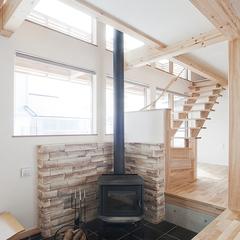 BDAC=Style 薪ストーブ 暖かい家 著名建築家と作る家 櫻井建設