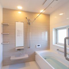 浴室乾燥 ゆったりと疲れを取ろう 広々浴室 櫻井建設