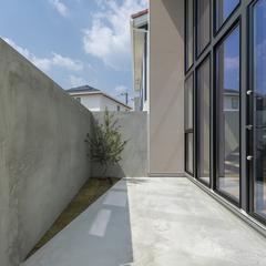 旅するように家を建てよう trip(トリップ)  大きな窓でもプライバシーは守ります
