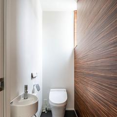 TRETTIO トレッティオのトイレ 壁がかわいい タンクレストイレ さあはじめよう 30歳からの家づくり ㈱櫻井建設