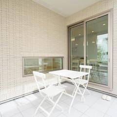 倉敷市徳芳のパネル工法 2×4(ツーバイフォー)の家でおしゃれな手摺のあるお家は、クレバリーホーム 倉敷店まで!