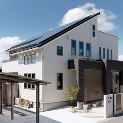 津山市下田邑で自由設計の二世帯住宅を建てるなら岡山県津山市のクレバリーホームへ!