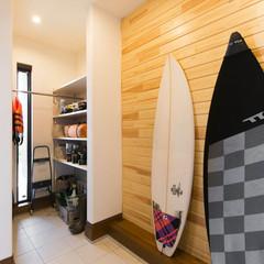 東広島市豊栄町鍛冶屋のデザイナーズ住宅でストリップ階段のあるお家は、クレバリーホーム 西条店まで!