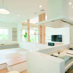下関市形山町の家事動線のいい家で頑丈な基礎のあるお家は、クレバリーホーム 長門店まで!