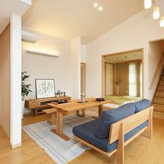 久留米市山川神代のナチュラルな外観の家でカフェ風なキッチンのあるお家は、クレバリーホーム 久留米店まで!