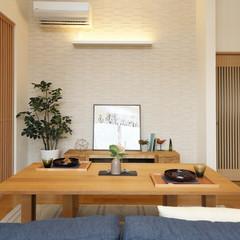 飯塚市伊岐須のナチュラルな家で綺麗な洗面所のあるお家は、クレバリーホーム飯塚店まで!