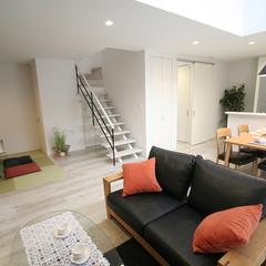 【オープン階段】上越妙高で新築ならグランハウス【和室】