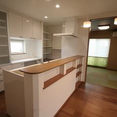 【キッチン】上越妙高で新築をお考えならグランハウスへご相談ください!【ニッチ】