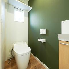 【上越妙高】30坪台のローコスト住宅成功実例【トイレ/Panasonicアラウーノ・手洗い】