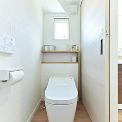 【上越妙高】新築注文住宅の収納プラン集実例!【トイレの収納】