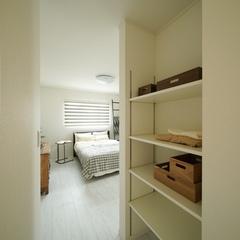 【上越妙高】新築注文住宅の収納プラン集実例!【寝室の収納】